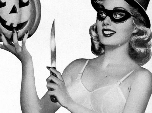 Halloween från förr: Pin-ups #2