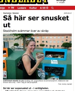 Gittan Goding i Aftonbladet