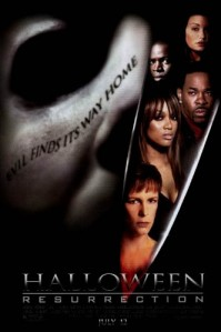 Halloween Resurrection poster