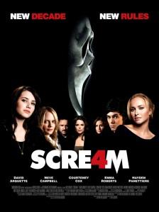 Scream 4 Scre4m 2011 poster