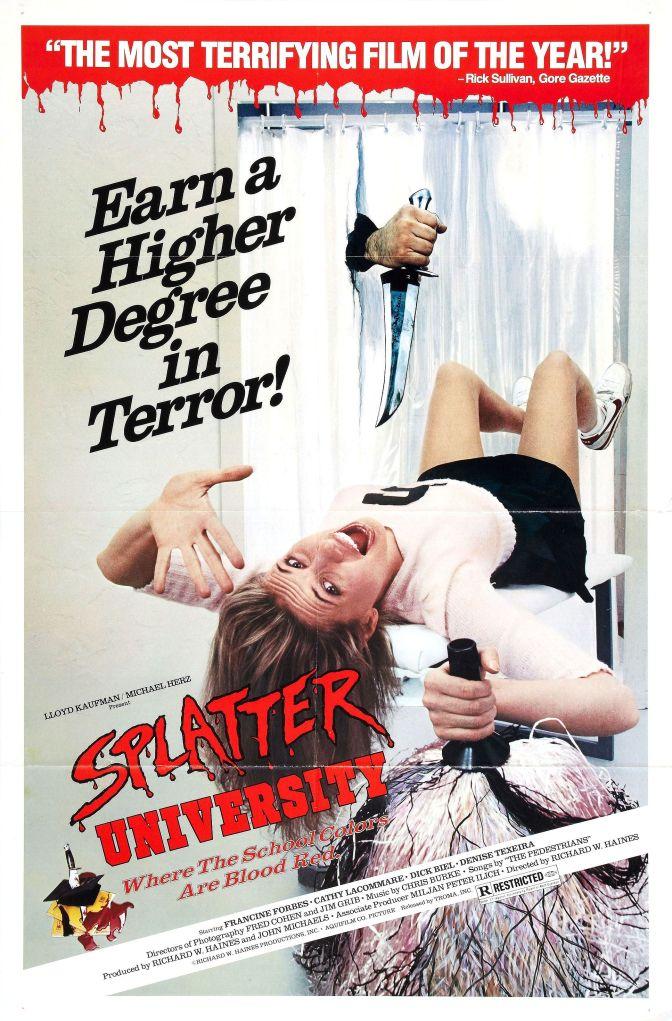 Hysteriska Trailers: Splatter University (1984)