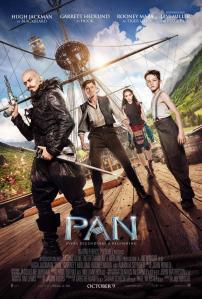 Pan 2015 poster