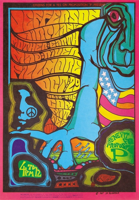 jefferson-airplaine-at-the-filmore-poster