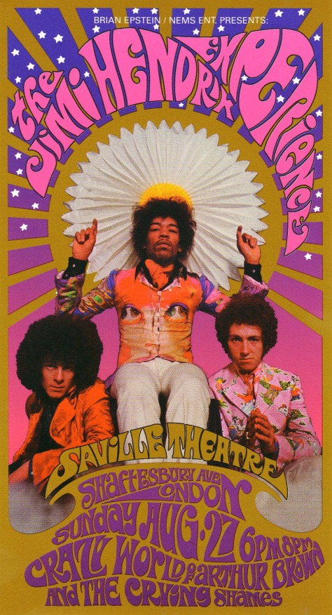 The Jimi Hendrix Experienced - August 27, 1967
