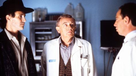 Twin Peaks (ABC) 1990 - 1991 Created by David Lynch Shown from left: Michael Ontkean, Warren Frost, Miguel Ferrer