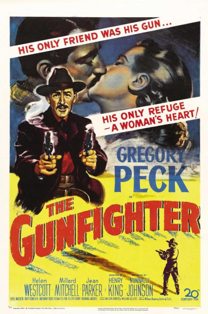 The Gunfighter (1950) eller: There was this movie I seen one time